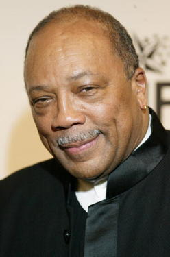 Quincy Jones at the Saks Fifth Avenue&#39;s &quot;Unforgettable Evening.&quot;